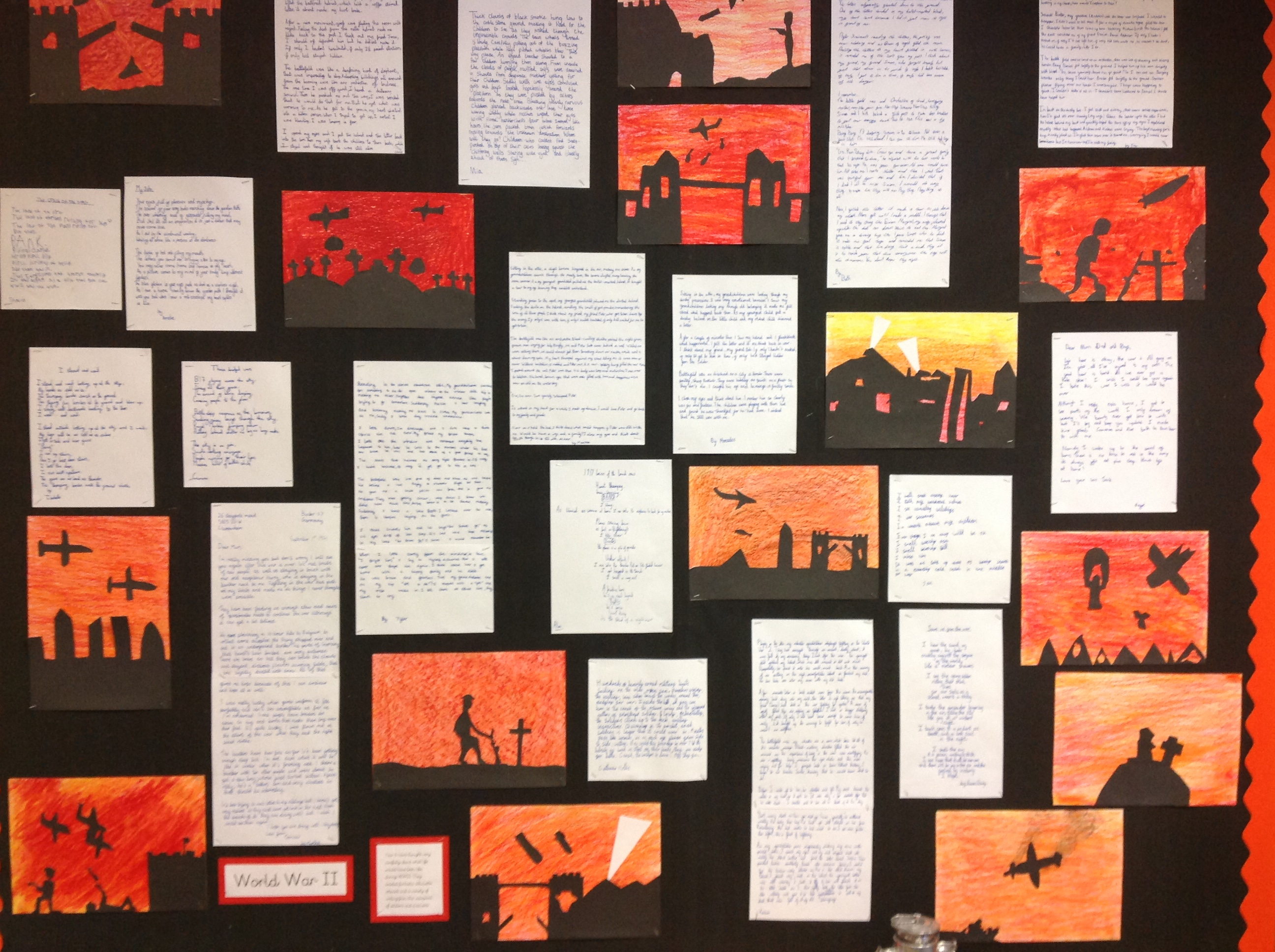 Y6 WW2 Display